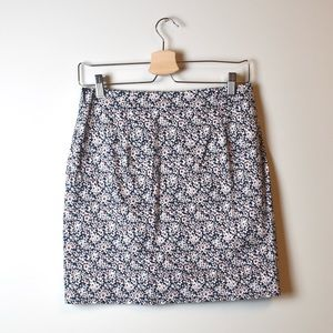 Banana Republic Floral Mini Skirt